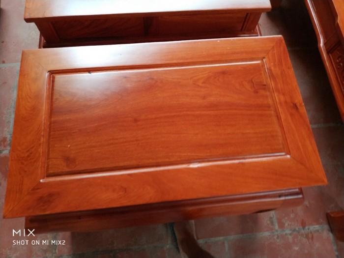 Bộ bàn ghế tần thủy hoàng gỗ hương đá12