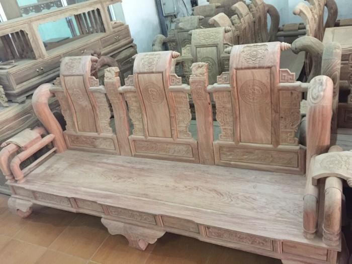 Bộ bàn ghế tần thủy hoàng gỗ hương đá15