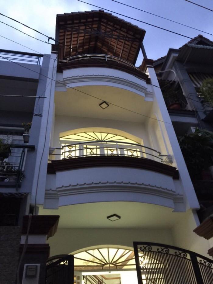 Vợ chồng ly hôn cần bán gấp căn nhà 89m2 mặt tiền đường Âu Cơ Tân Bình 1 trệt 2 lầu