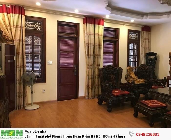 Bán nhà mặt phố Phùng Hưng Hoàn Kiếm Hà Nội 103m2 4 tầng mặt tiền 6.2m 48 tỷ