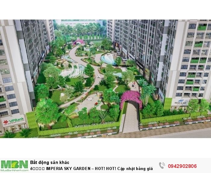 Imperia Sky Garden – Hot! Hot! Cập Nhật Bảng Giá Ngày 12/7