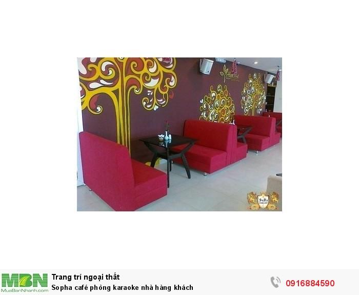 Sopha café phòng karaoke nhà hàng khách3