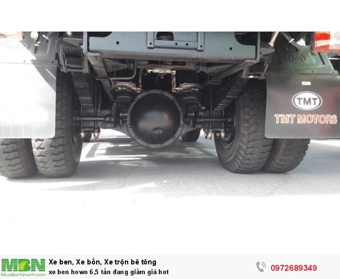 Xe ben Howo 6,5 tấn đang giảm giá hot