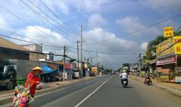 Biệt thự 200m2 Nguyễn Thái Bình, TT Cần Giuộc