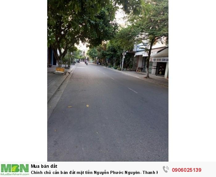 Chính chủ cần bán đất mặt tiền Nguyễn Phước Nguyên- Thanh Khê – Đà Nẵng