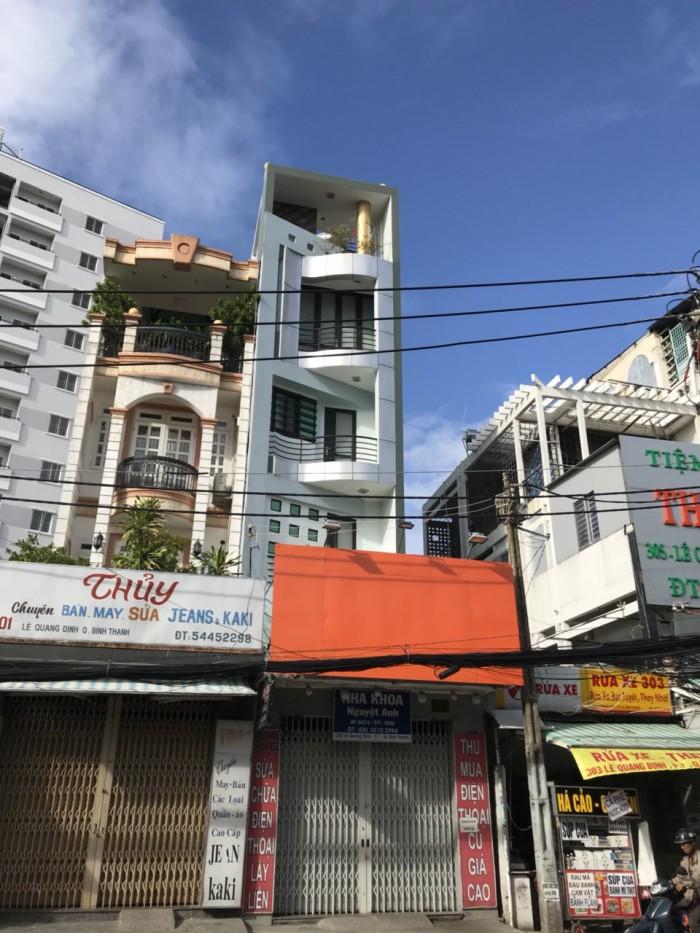 Căn góc 2 mặt tiền Lê Quang Định. 4x21. 5 lầu.