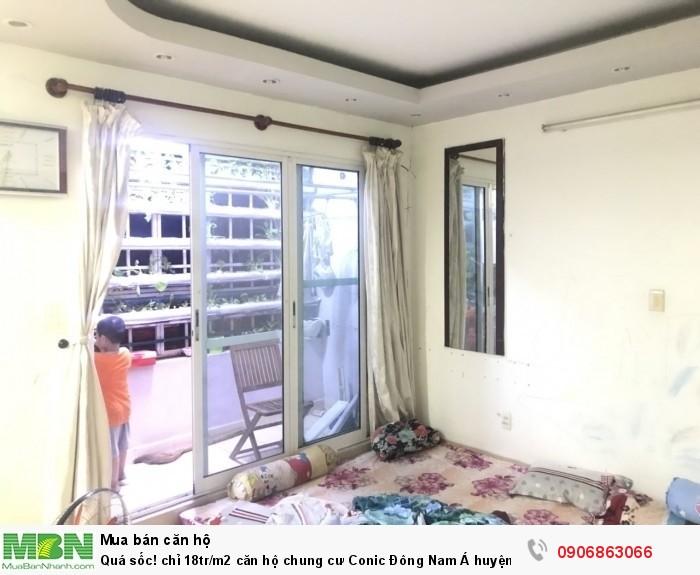 Quá sốc! chỉ 18tr/m2 căn hộ chung cư Conic Đông Nam Á  huyện Bình Chánh, DT 92m2, sổ hồng