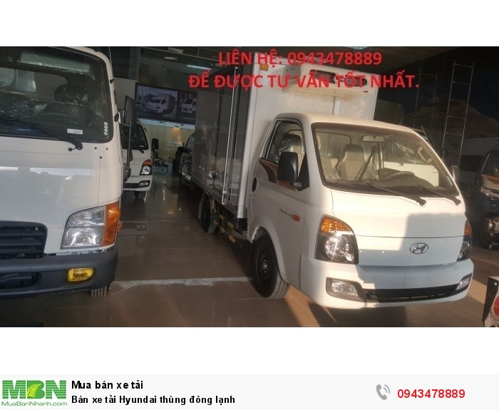 Bán xe tải Hyundai thùng đông lạnh