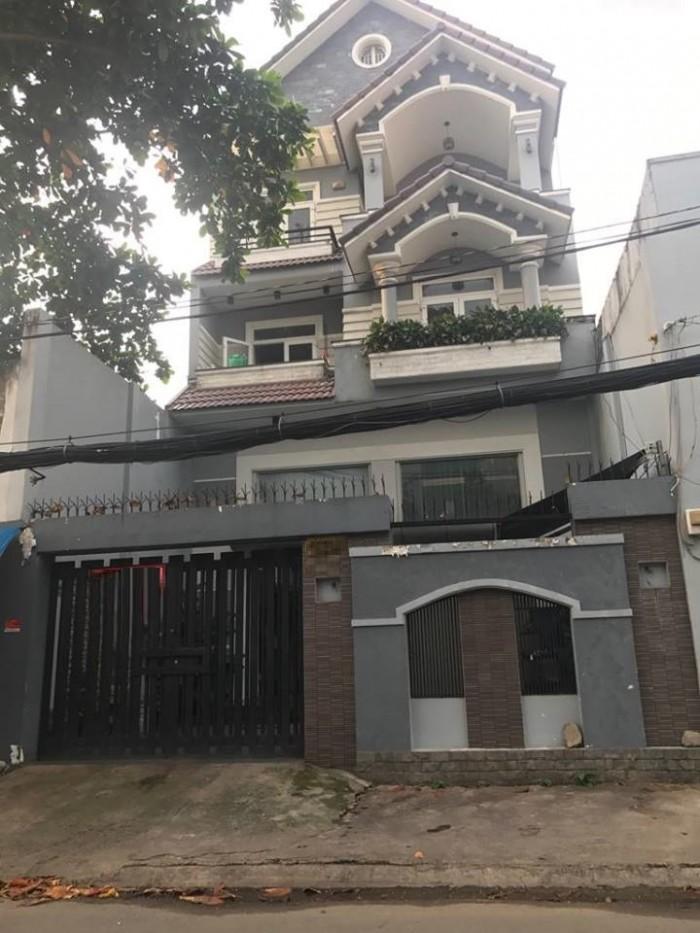 Cho thuê biệt thự Khuông Việt, Phú Trung, Tân Phú, 8.5x20m