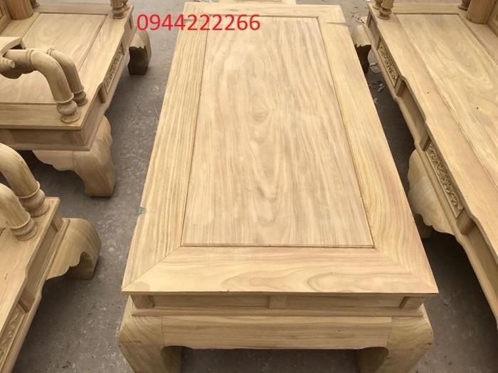 Bộ bàn ghế tần thủy hoàng gỗ cẩm vàng tay 125