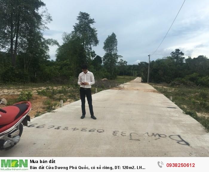 Bán đất Cửa Dương Phú Quốc, có sổ riêng, DT: 120m2.