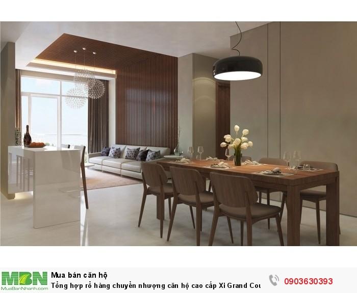 Tổng hợp rổ hàng chuyển nhượng căn hộ cao cấp Xi Grand Court đường Lý Thường Kiệt Quận 10