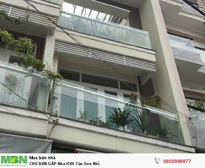 CHỦ BÁN GẤP Nhà HXH Tân Sơn Nhì.