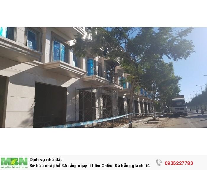 Sở hữu nhà phố 3.5 tầng ngay tt Liên Chiểu. Đà Nẵng giá chỉ từ 4 tỷ/căn.