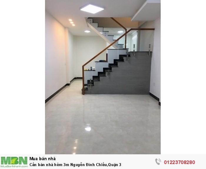 Bán nhà Nguyễn Đình Chiểu, quận 3 - (DT: 4m x 10,5m)