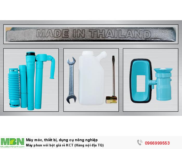Máy phun vôi bột giá rẻ KCT (Hàng nội địa TQ)6