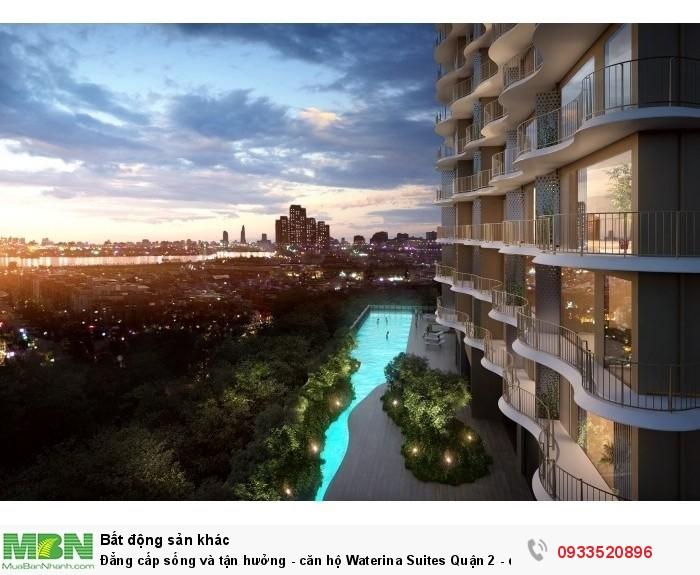 Đẳng cấp sống và tận hưởng - căn hộ Waterina Suites Quận 2 - đậm phong cách Nhật