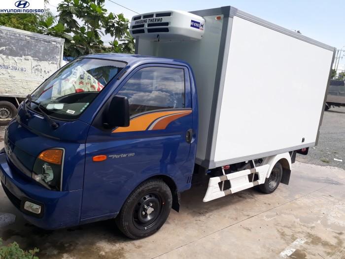 Hyundai thùng đông lạnh dưới 2 tấn