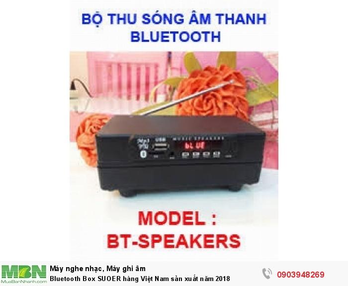 Thiết bị Bluetooth Box SUOER thay thế cho các loại USB bluetooth mini quá nhỏ gọn nên thu sóng yếu