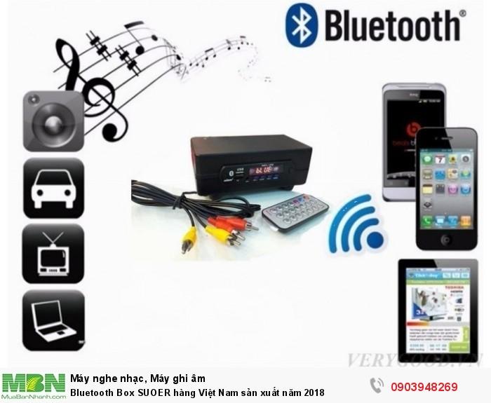 Thiết bị Bluetooth Box SUOER dùng để nâng cấp bluetooth cho các sản phẩm điện tử đời cũ không có bluetooth