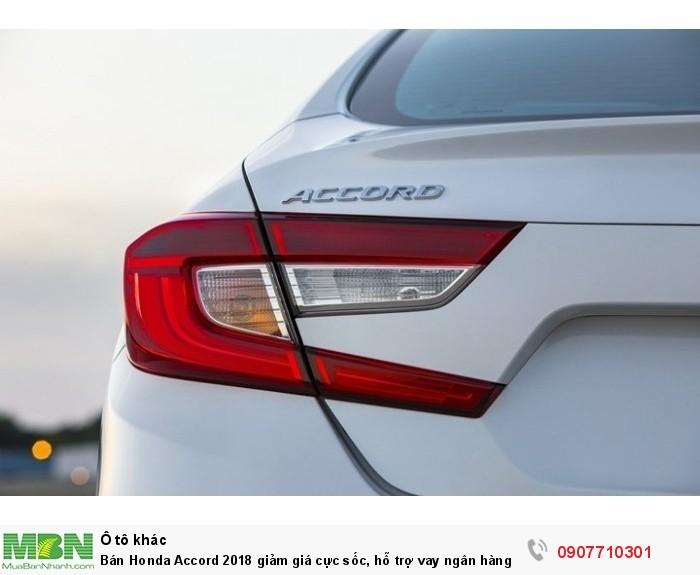 Bán Honda Accord 2018 giảm giá cực sốc, hỗ trợ vay ngân hàng đến 85% lãi suất cực thấp!