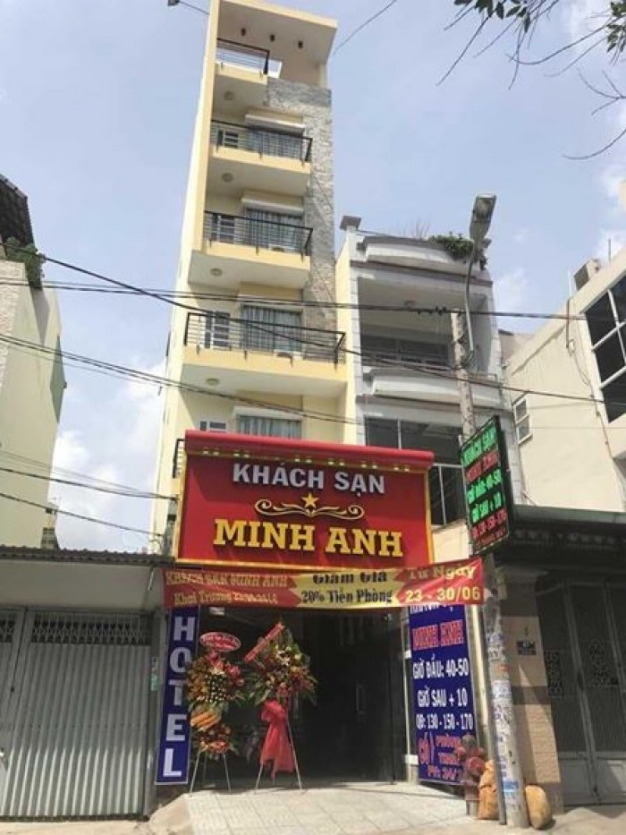Hotel 2 sao cho khách muốn kinh doanh. 13.000.000.000 ₫.124m2 đường số 1 Sổ Hồng Riêng