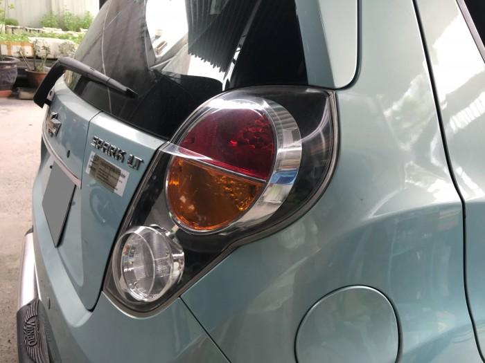 Bán gấp Chevrolet Spark LT 2013 xanh ngọc xe đi giữ rất kỹ 4