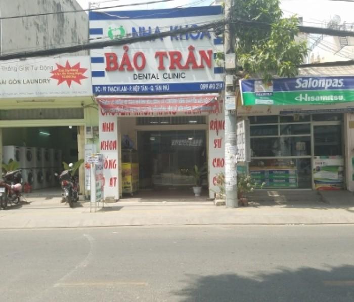 Bán MTKD đường Thạch Lam, 4.14m x 22m, P Hiệp Tân, Q Tân Phú.