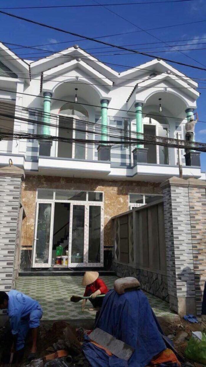 Bán Nhà Mới 1 Trệt 1 Lầu Hẻm 170 Hoàng Quốc Việt Diện Tích 4x23.5