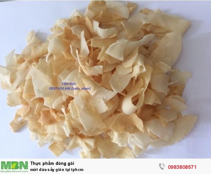 500gr Mứt dừa sấy giòn tại tphcm0