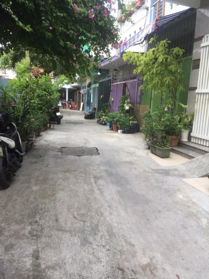 Bán Nhà Hẻm Rộng 6m Đường Gò Dầu. P. Tân Quý, Q. Tân Phú.