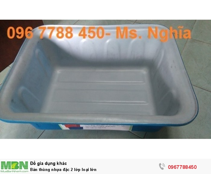 thùng nhựa 2 lớp5