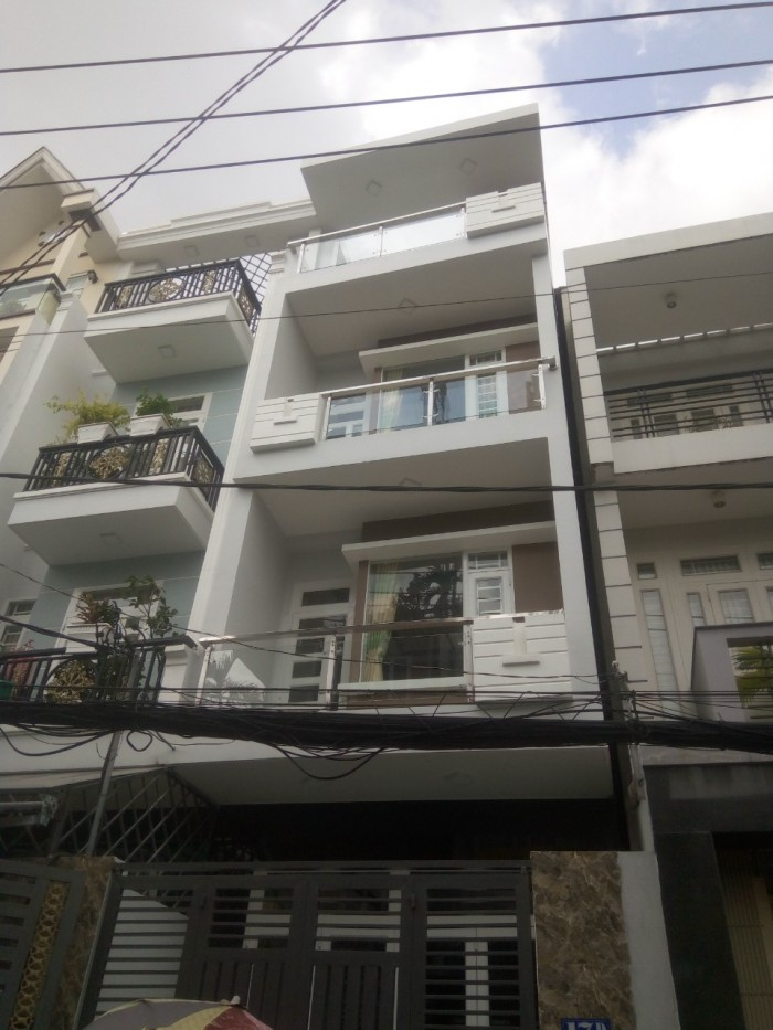 Bán Nhà MT đường Trần Văn Cẩn.Q Tân Phú.dt 4x 15m .2 lầu ST