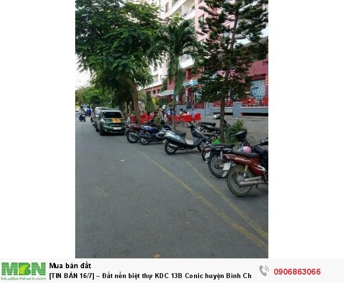[Đất nền biệt thự KDC 13B Conic huyện Bình Chánh, giá 24,5tr/m2, DT 288m2