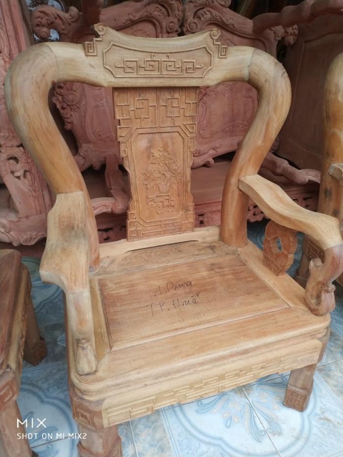 Bộ bàn ghế triện gỗ gụ7