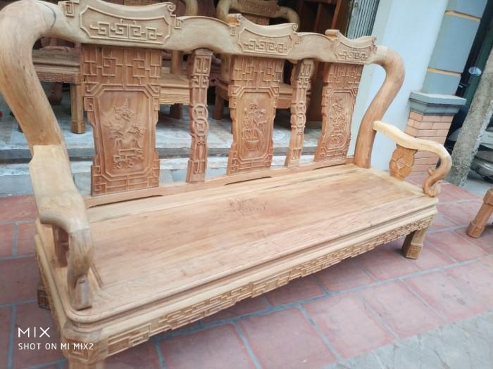 Bộ bàn ghế triện gỗ gụ6