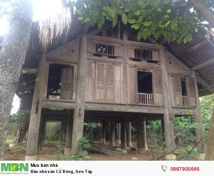Bán nhà sàn Cổ Đông, Sơn Tây