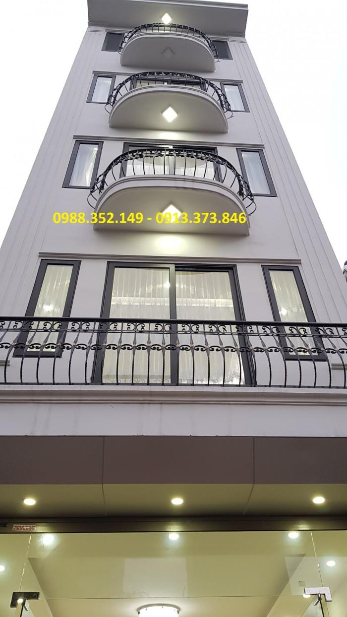 Bán nhà liền kề khu đấu giá Ngô Thì Nhậm, Hà Đông. 50m2 x5T mặt tiền 4m