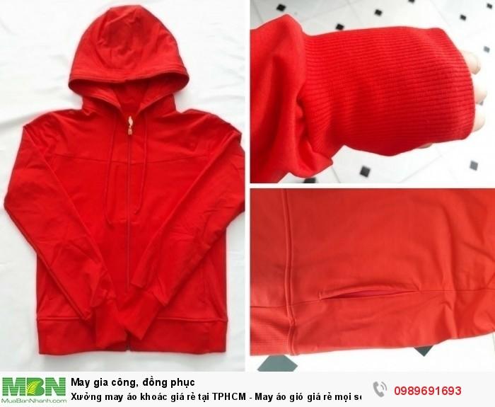 Xưởng bỏ sỉ áo khoác - Xưởng may áo gió, áo khoác giá rẻ tại TPHCM