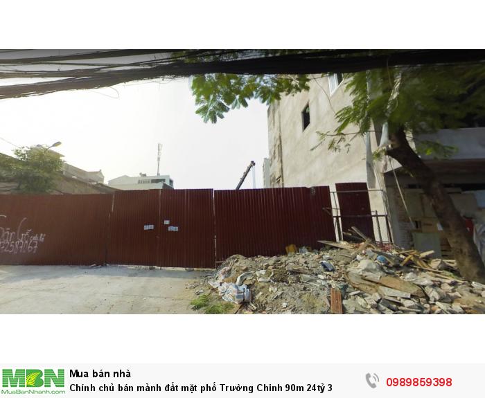 Chính chủ bán mảnh đất mặt phố Trường Chinh 90m