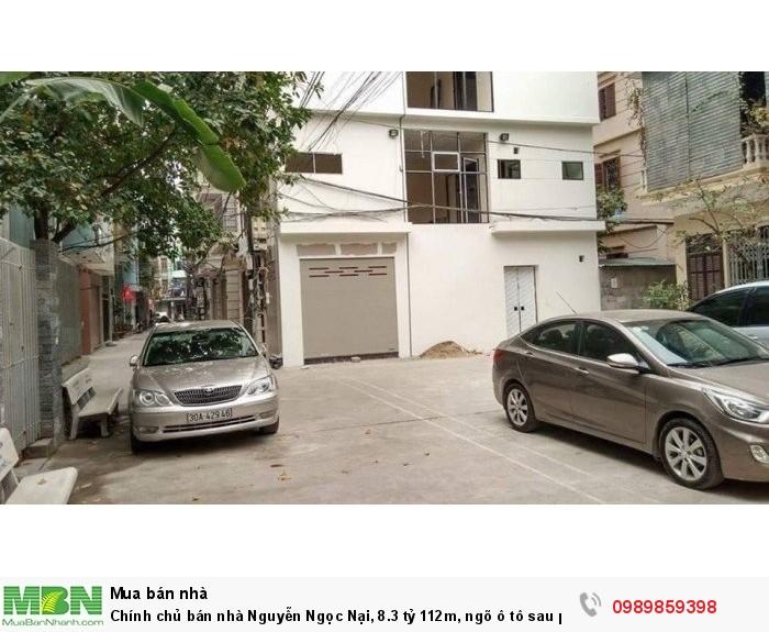 Chính chủ bán nhà Nguyễn Ngọc Nại, 8.3 tỷ 112m, ngõ ô tô sau phố 1 nhà.