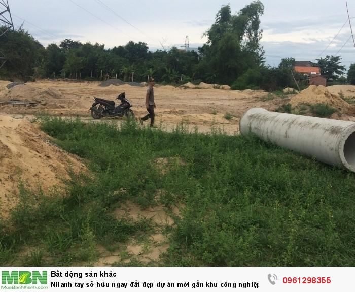 NHanh tay sở hữu ngay đất đẹp dự án mới gần khu công nghiệp Điện Nam- Điện Ngọc