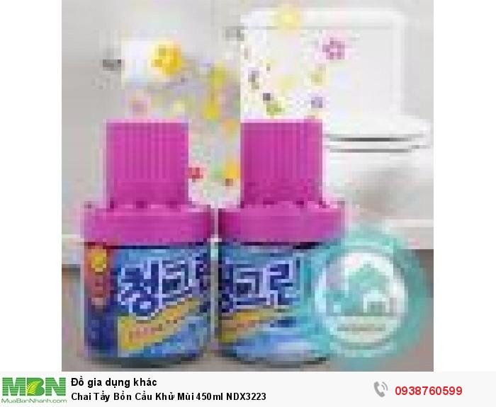 Chai Tẩy Bồn Cầu Khử Mùi 450ml NDX32231