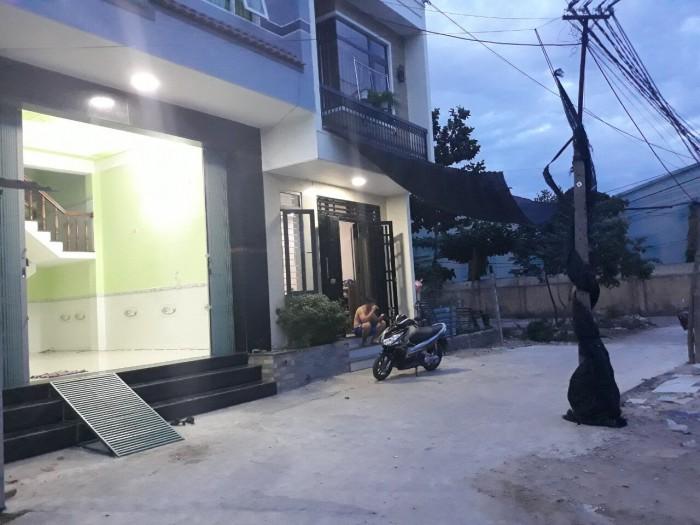 Cần bán nhà 1 mê mới xây hẻm lớn, Nhơn Bình, TP Quy Nhơn