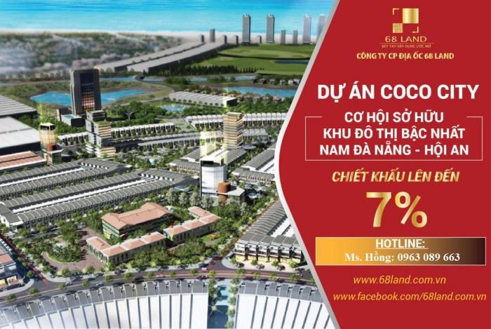 Bán đất dự án COCO CITY – Sau lưng Cocobay, ck đến 7%, Giá tốt cho đầu tư