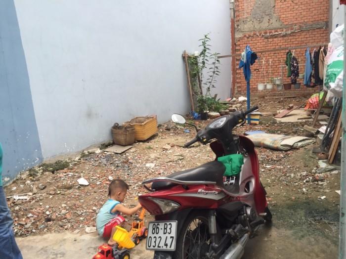 Bán đất hẻm đường Kênh Tân Hóa , P Phú Trung Q Tân Phú