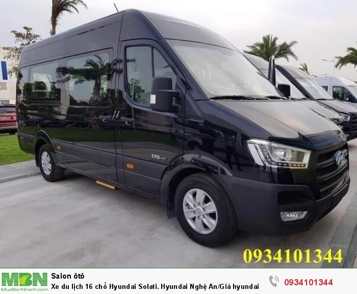 Xe du lịch 16 chổ Hyundai Solati. Hyundai Nghệ An/Giá hyundai 16 chổ. Hỗ trợ vay ngân hàng 70%