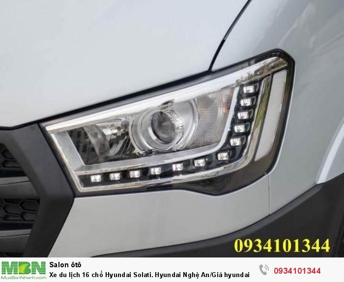 Xe du lịch 16 chổ Hyundai Solati. Hyundai Nghệ An/Giá hyundai 16 chổ. Hỗ trợ vay ngân hàng 70% 2