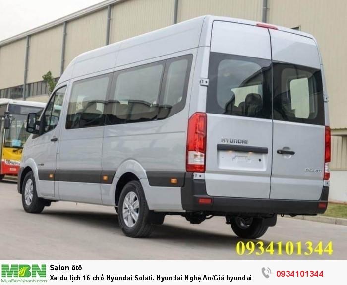 Xe du lịch 16 chổ Hyundai Solati. Hyundai Nghệ An/Giá hyundai 16 chổ. Hỗ trợ vay ngân hàng 70% 4