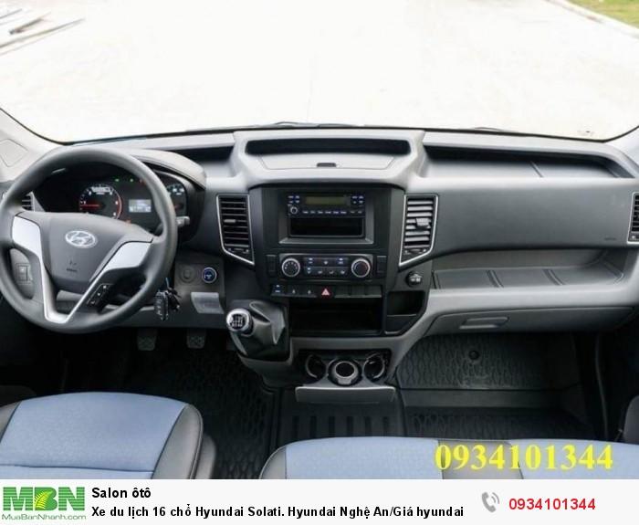 Xe du lịch 16 chổ Hyundai Solati. Hyundai Nghệ An/Giá hyundai 16 chổ. Hỗ trợ vay ngân hàng 70% 5